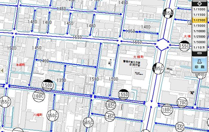 東京都八王子市の相続税路線価
